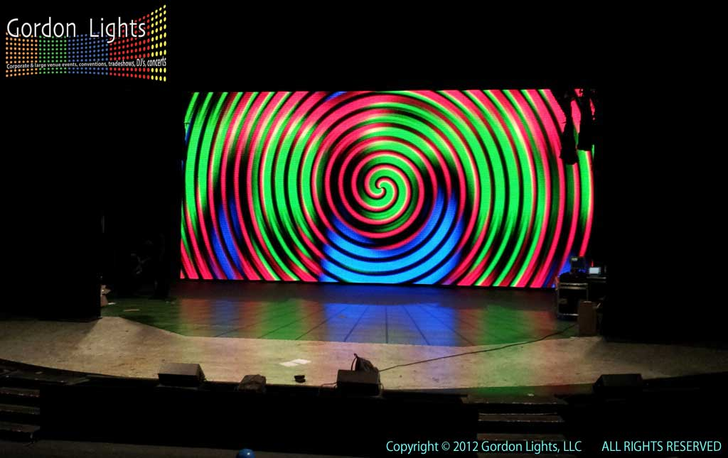 GLowVision FLEX And Madrix This LED Curtain