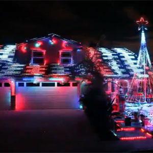 Fountan Valley Light Show